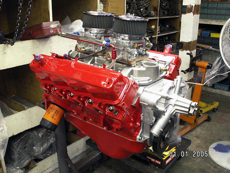1960 Dodge Dart Engine Swap