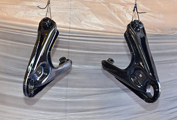 Painted lower control arms