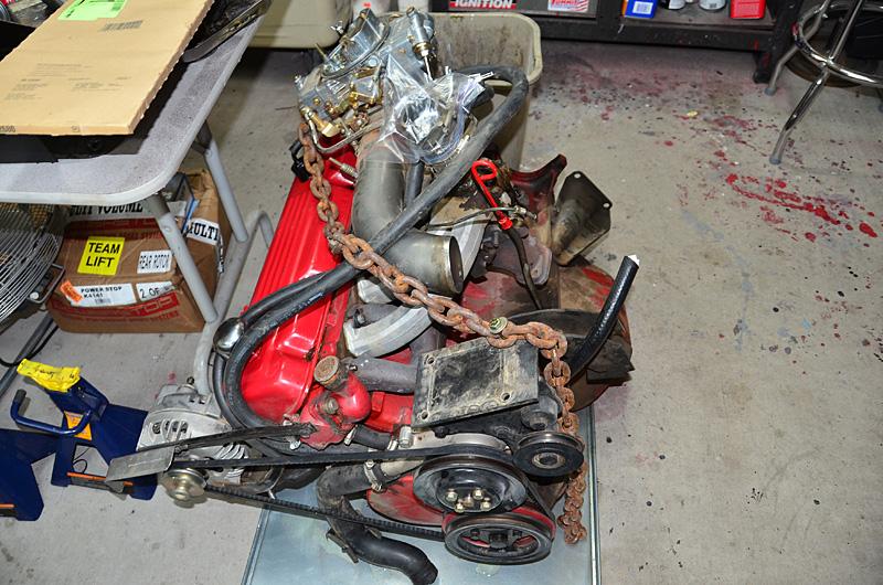 1960 Dodge Dart Engine Swap